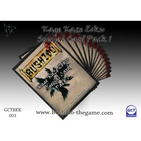 kage Kaze Card pack 1