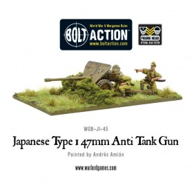 Japanese Type 47mm Anti Tank Gun