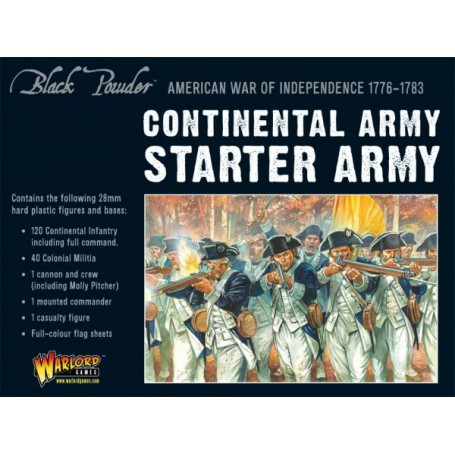 AWI Continental Starter Army