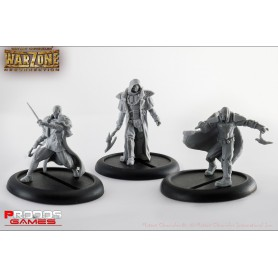 Mutant Chronicles RPG Models Bauhaus Set