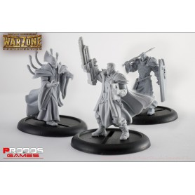 Mutant Chronicles RPG Models Brotherbood set