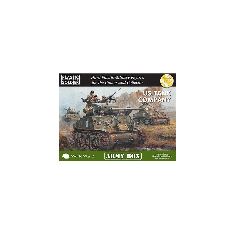 15mm US Tank Company
