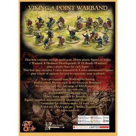 Boîte de bande Viking en plastique (4 points)