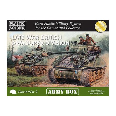 15Mm Late War British Armoured Division