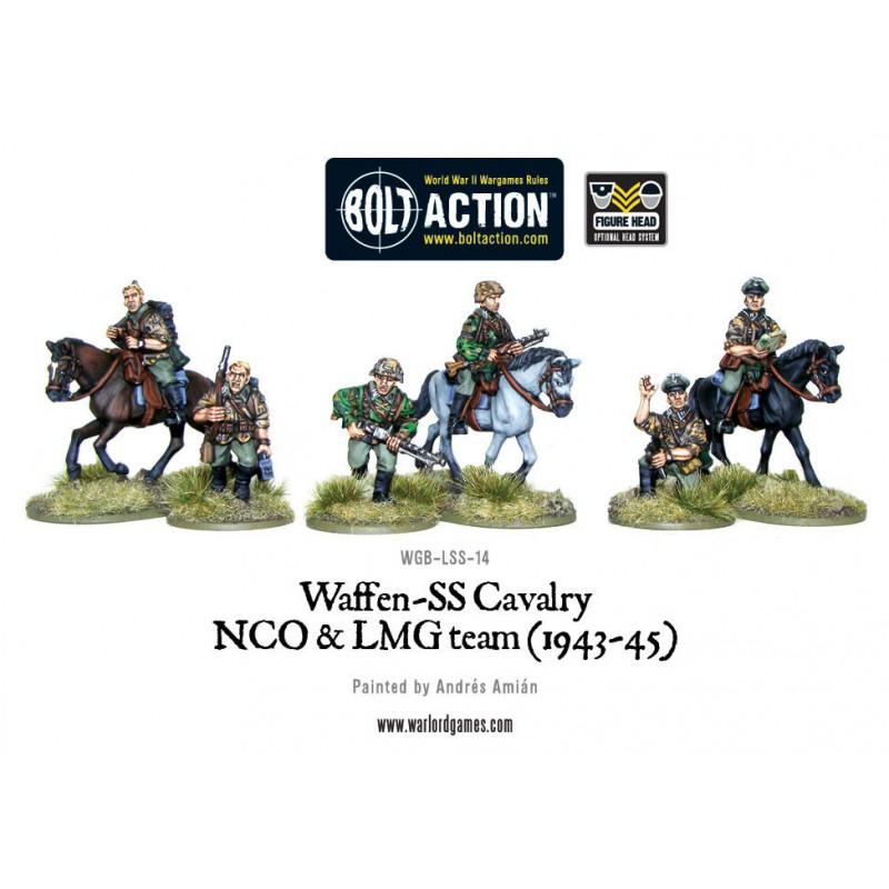 Waffen SS Cavalry NCO & LMG Team (1942-45)
