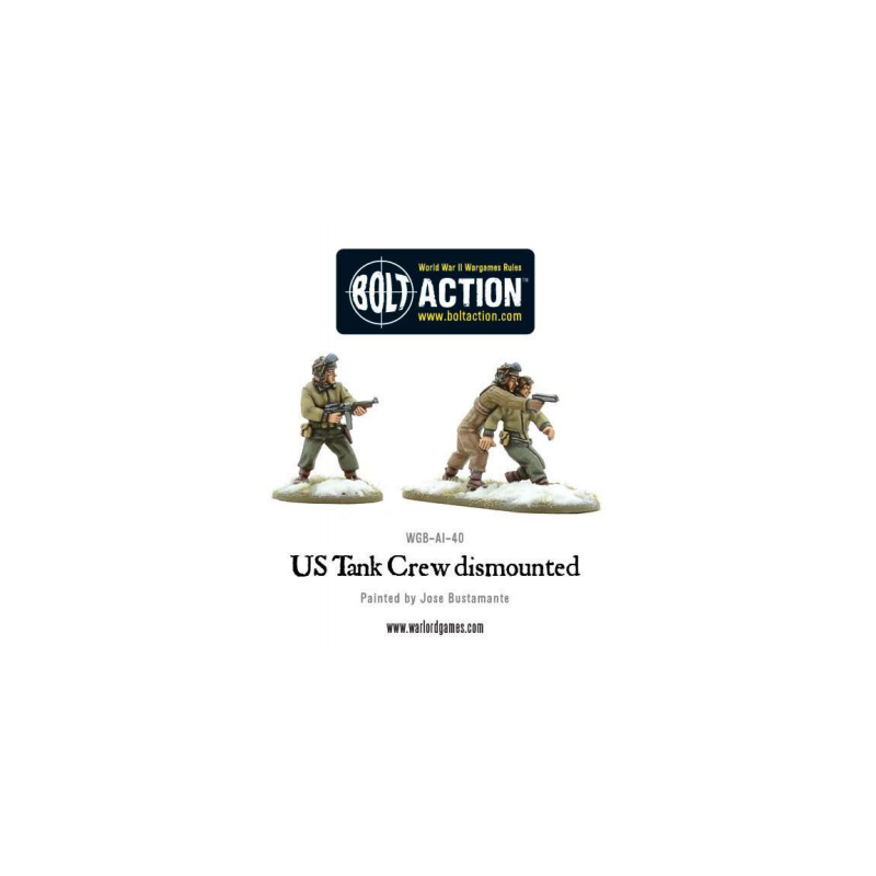 US Tank Crew dismounted