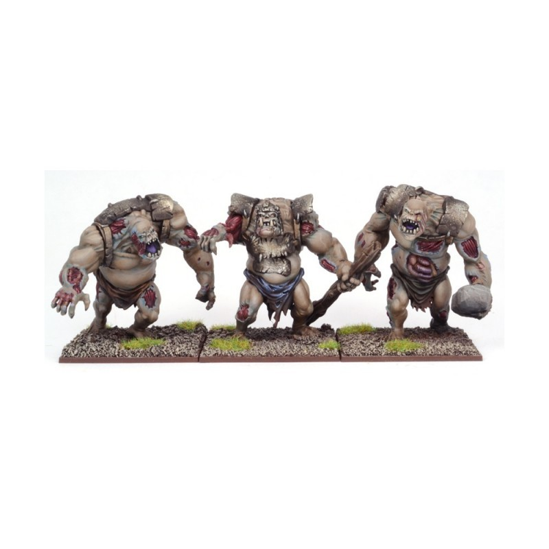 Trolls zombies (3 figurines)