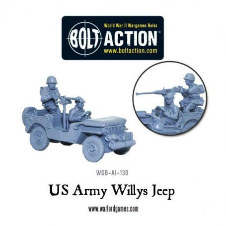 US Army Willys Jeep with Stowage – Revised!