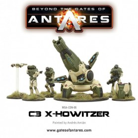 C3 Support team with X-Howitzer