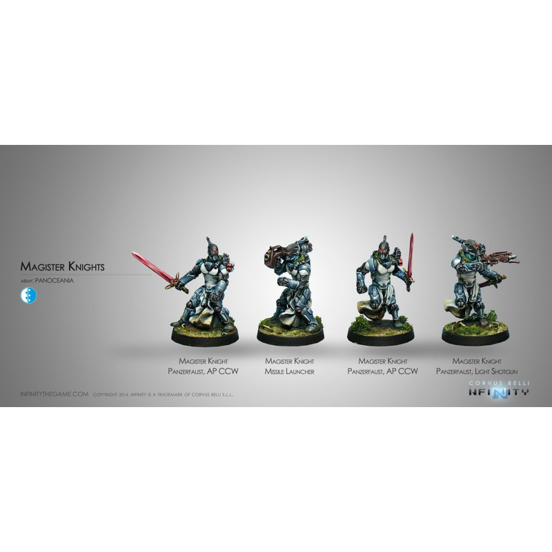 Panoceania Magister Knights