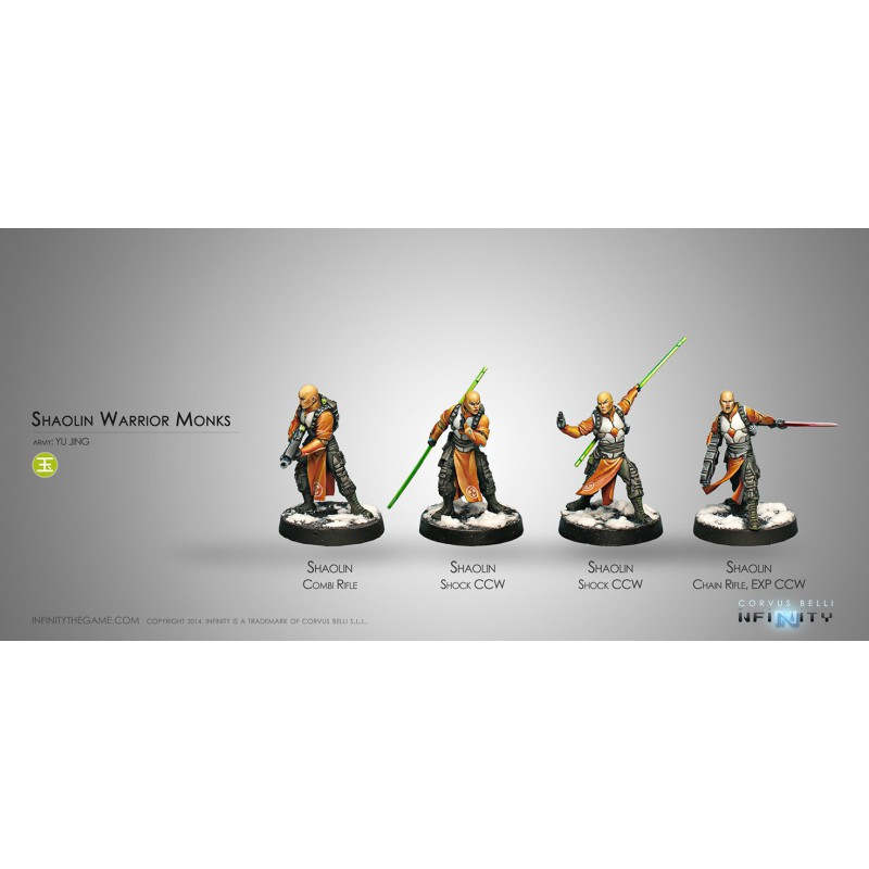 Yu Jing Shaolin Warrior Monks