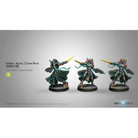 Yu Jing Imperial Agents, Crane Rank