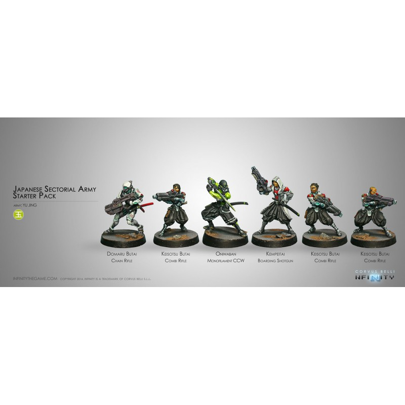 Yu Jing Japanese Sectorial Army (Starter Pack)