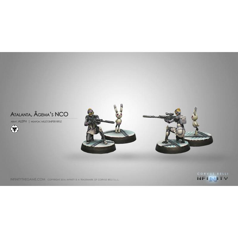 Atalanta, Agêma'S Nco & Spotbot(Multi Sniper & Spotter), Aleph