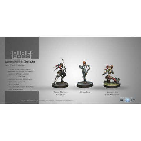 Dire Foes Mission Pack: Dark Mist