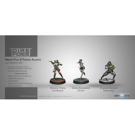 Dire Foes Mission Pack: Fleeting Alliance