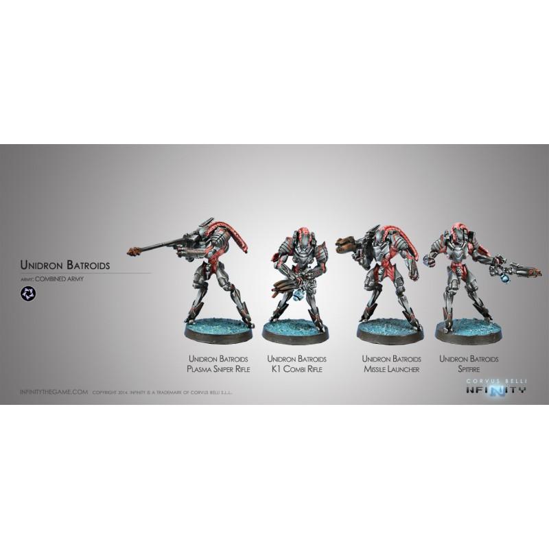 Unidron Batroids, Combined Army, Infinity