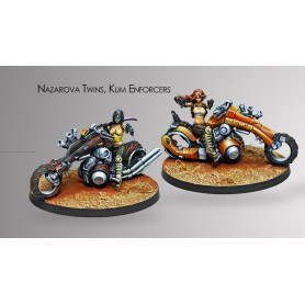 The Nazarova Twins, Kum Enforcers, Haqqislam Infinity