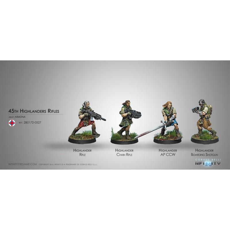 Highlander Rifles, Ariadna, Infinity