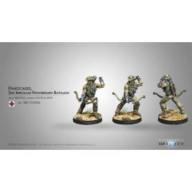Hardcases, 2nd Irregular Frontiersmen Battalion, Ariadna, Infinity