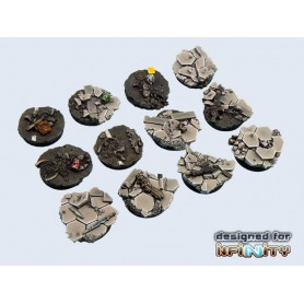 Urban Fight Bases round 40mm