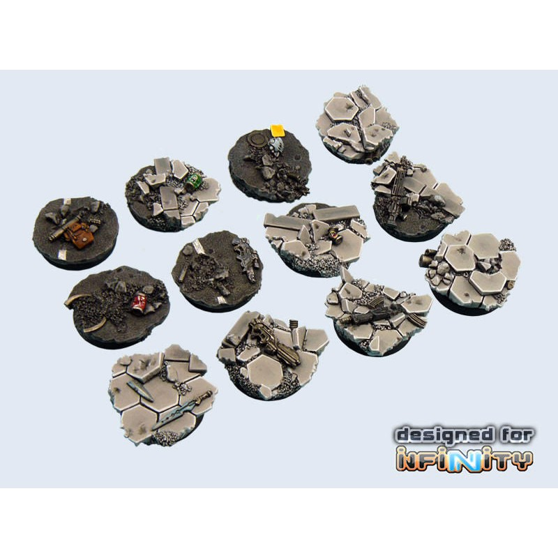 Urban Fight Bases round 55mm