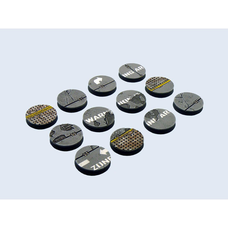 Warehouse Bases round 25mm