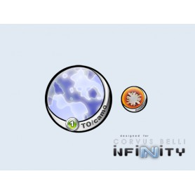Infinity Token TO-Camo Blue 55mm