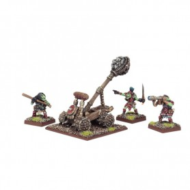 Lance-grosses pierres (4 figurines), Goblins pour Kings of War par MANTIC