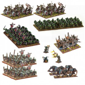 Méga-armée Gobeline (151 figurines), Goblins pour Kings of War par MANTIC