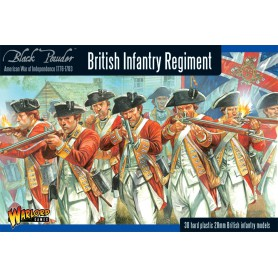British Infantry Regiment (Plastic Box)