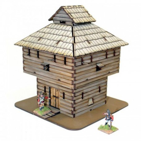 Log Timber Blockhouse