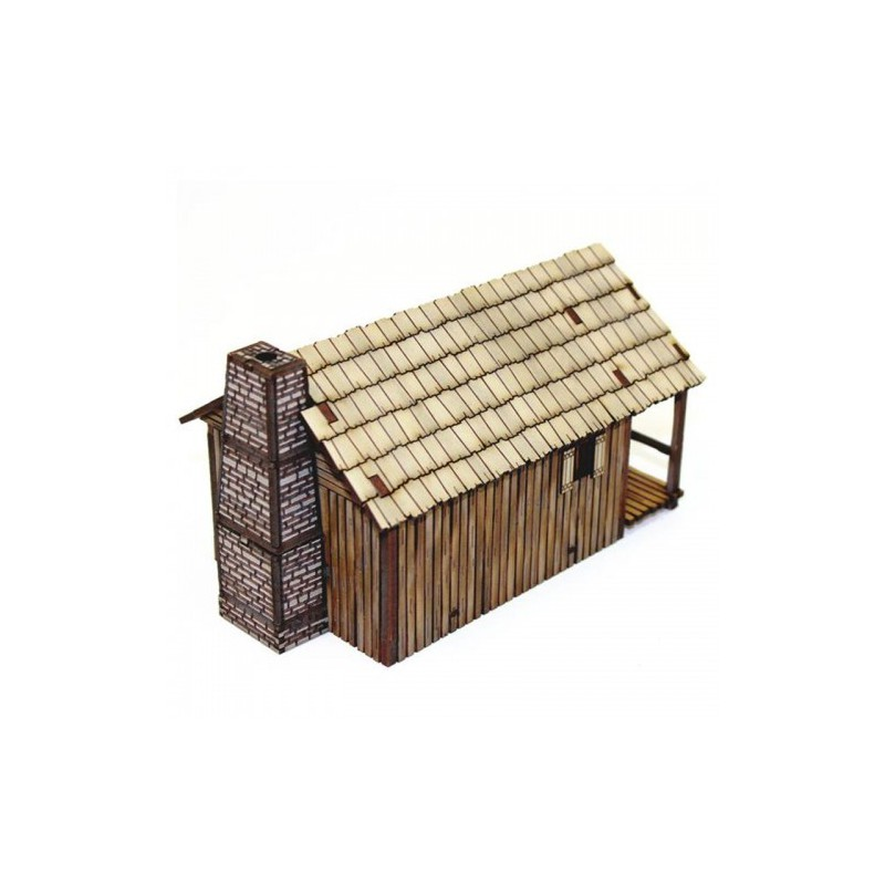 New France Pioneers Cabin