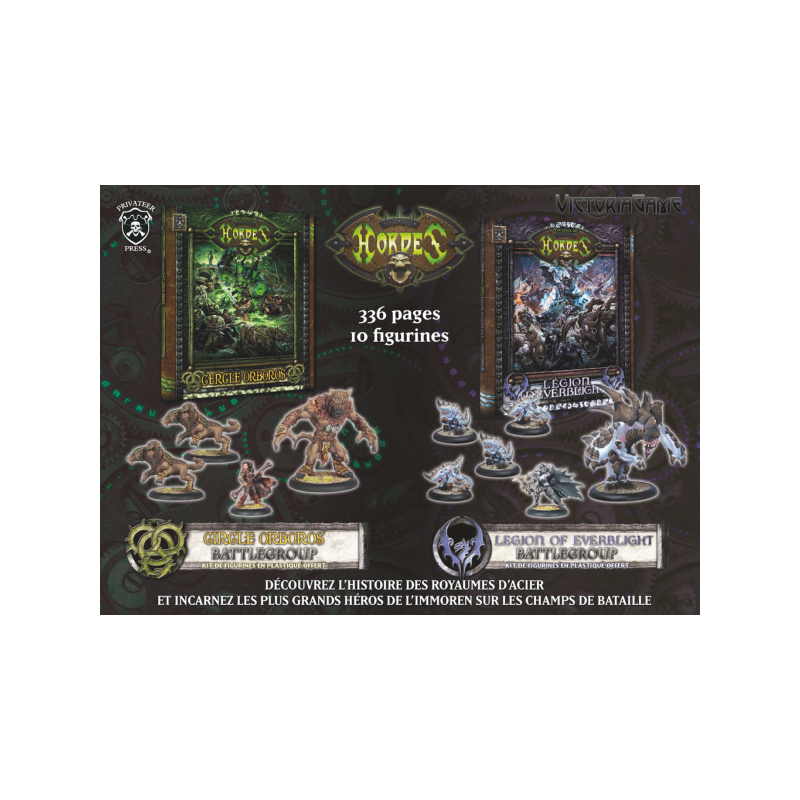 Livres Orboros & Everblight+ battlegroups OFFERTS