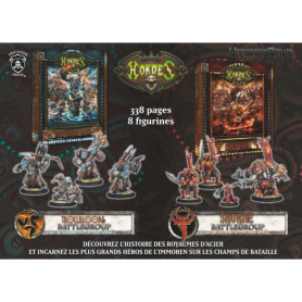 Livres Trollblood & Skorne + battlegroups OFFERTS (VF)