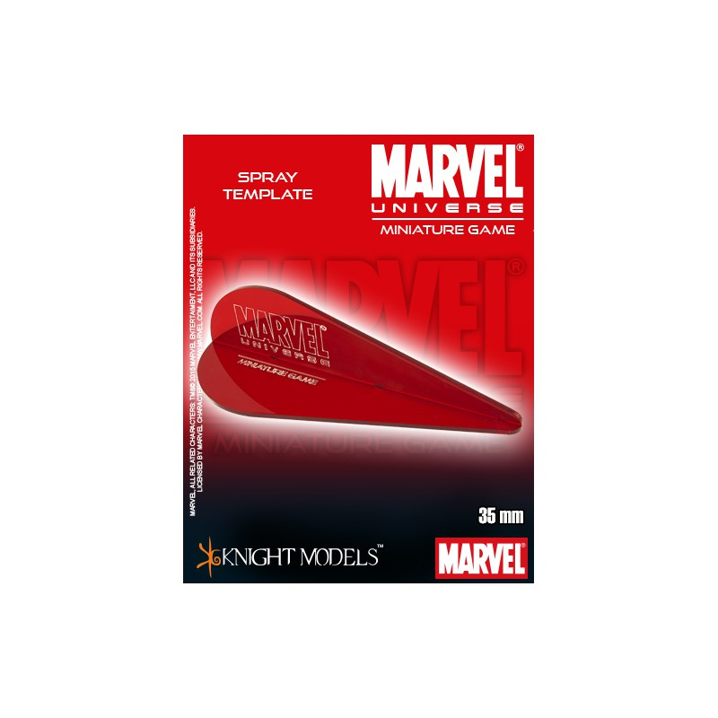 Marvel Universe Spray Templates