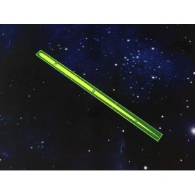 Space Fighter Range Ruler Green
