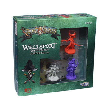 Rum & Bones : Wellsport Brotherhood (Set de Héros)