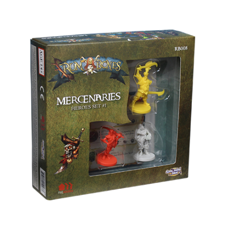Rum & Bones : Mercenaries 1 (Set de Héros)