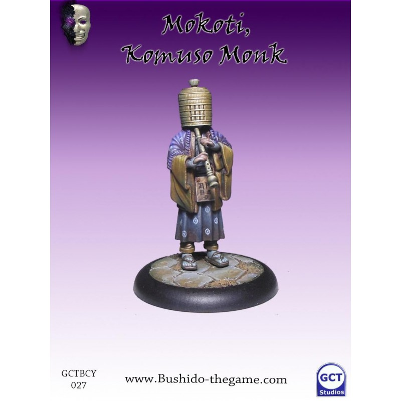 Mokoti, Komuso Monk, Culte de Yurei