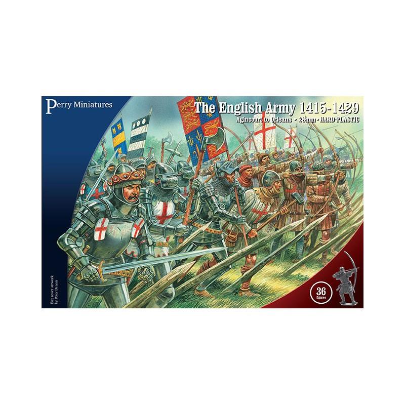 English Army 1415-1429 (36 figures) , Guerre de 100 ans par Perry Miniatures