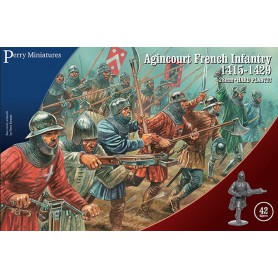 Agincourt French Infantry 1415-29 (42 figurines)