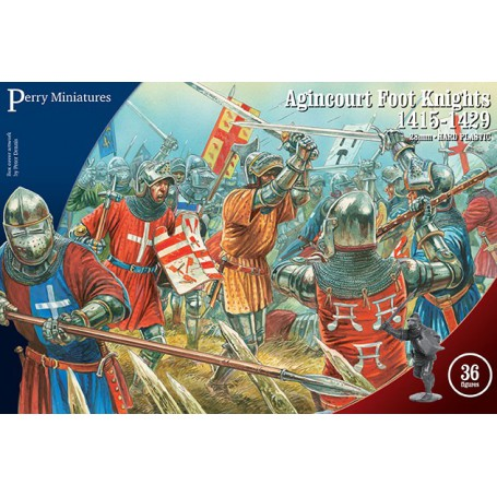Agincourt Foot Knights (36 figurines)