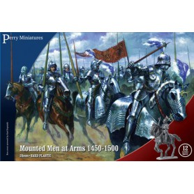 Mounted Men at Arms 1450-1500 (12 figurines)