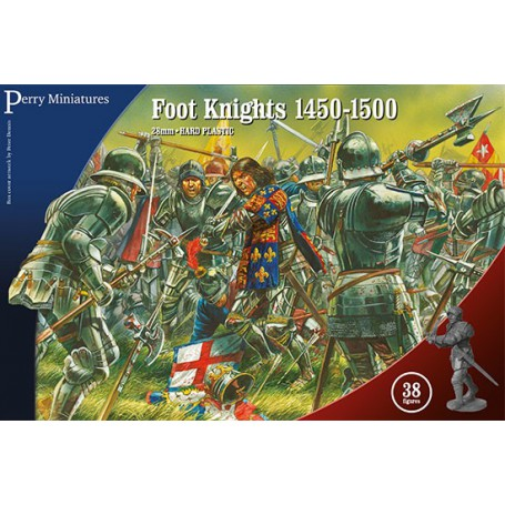 Foot Knights 1450-1500 (38 figurines)