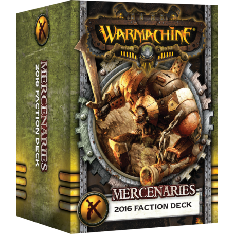 Deck de cartes MkIII Mercenaires Vf