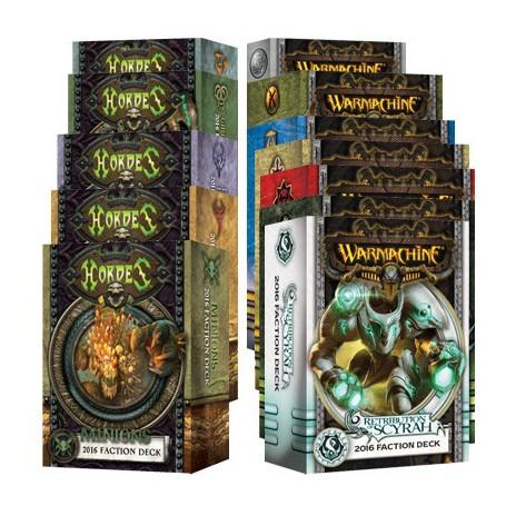 Shut Up and take my money! Intégrale des cartes MkIII Bilingue Warmachine et Hordes