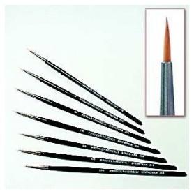 Pinceau synthétique 2/0 poil long