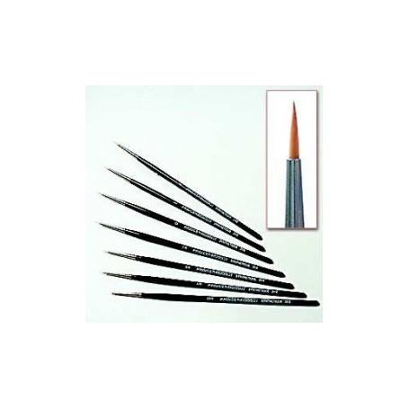 Pinceau Synthétique 0 Poil Long
