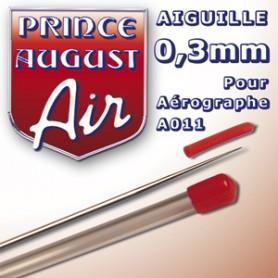 Aiguille 0,3 pour aérographe A011